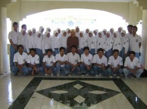 foto bersama, alumni MAN 1 Magelang TA 2007-2009