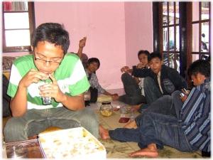 Silaturrahmi di tempat Drs. Thoifur, Kepala Sekolah MAN 1 KOTA Magelang