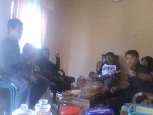 Anak-anak Conans Man 1 Kota Magelang sedang silaturrahmi di Rumahnya Ibu Zuidah Latifah